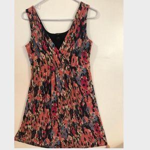 Ann Taylor Print Dress in Petite